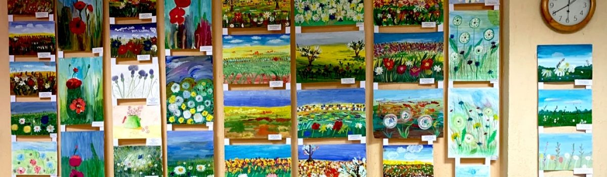 Выставка «Полевые цветы»
