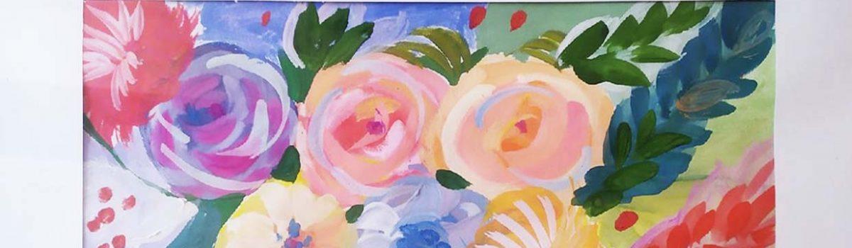 Выставка творческих работ «Цветочный вальс»