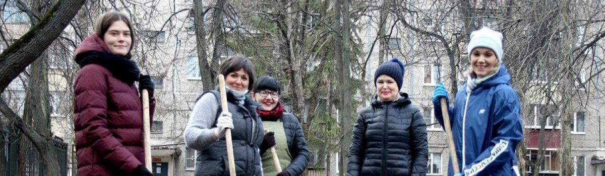 «Весенний экологический субботник «Зелёная Россия»
